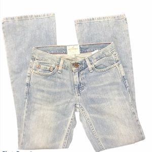 American Eagle Jeans Hipster Flare leg Low Wait